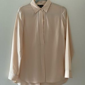 VINCE Silk Top, Size 4